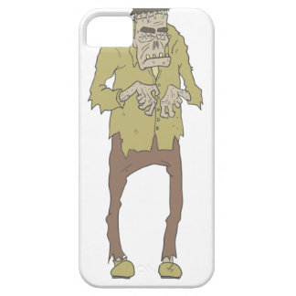 Creepy Zombie With Stitched Eyes With Rotting Case For The iPhone 5