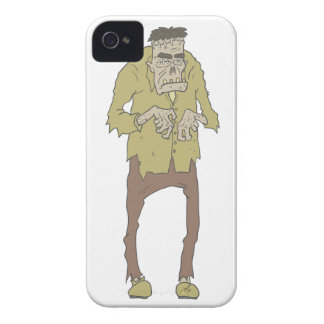 Creepy Zombie With Stitched Eyes With Rotting iPhone 4 Case-Mate Case