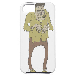 Creepy Zombie With Stitched Eyes With Rotting Tough iPhone 5 Case