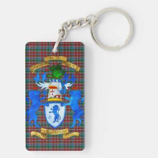 Creighton Coat of Arms Key Ring