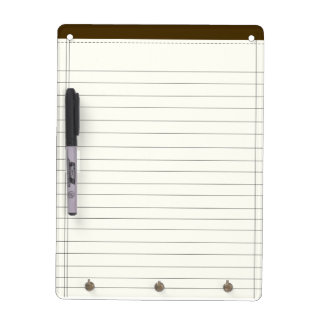 Creme Colored Notes Dry Erase Board