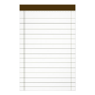 Creme Colored Notes Stationery