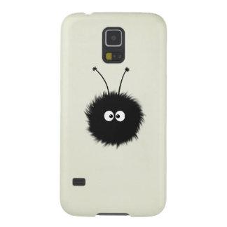 Creme Fluffy Cute Dazzled Bug Galaxy S5 Cover