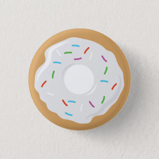 Creme White Donut  Pin