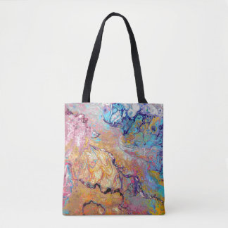 Cremecycle Acrylic Pour All Over Tote