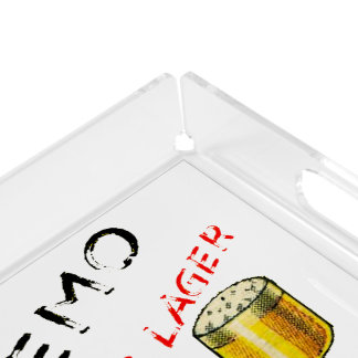 Cremo Ale & Lager Beer Acrylic Tray