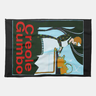 Creole Gumbo Cook Tea Towel