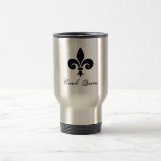 Creole Queen Fleur De Lis Travel Mug