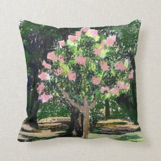 Crepe Myrtle Tree American Mojo Pillow Cushions
