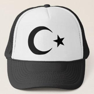Crescent and Star Trucker Hat