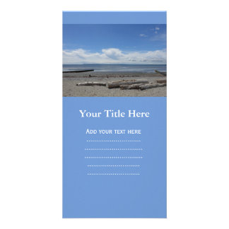 Crescent beach at White Rock Photo Greeting Card