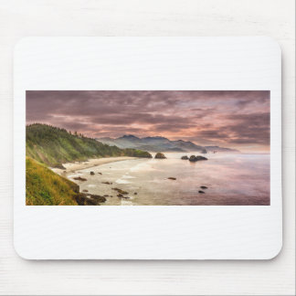 Crescent Beach from Ecola State Park Mouse Pad