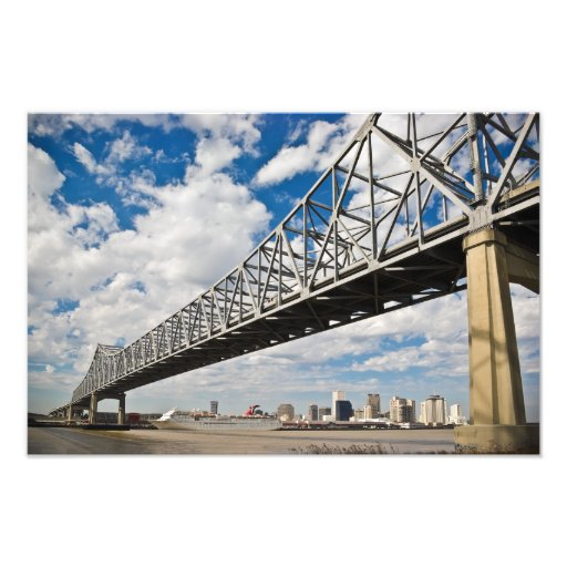 Crescent City Bridge Photo