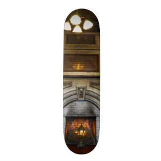 Crescent Hotel Fireplace 18.4 Cm Mini Skateboard Deck