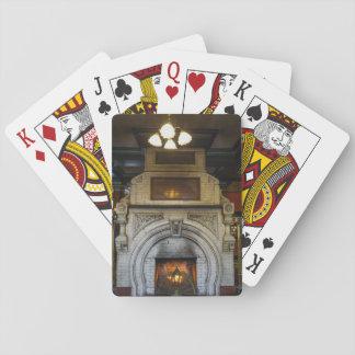 Crescent Hotel Fireplace Poker Deck
