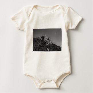 Crescent Moon and Buffalo Rock Baby Bodysuit