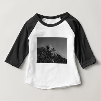 Crescent Moon and Buffalo Rock Baby T-Shirt