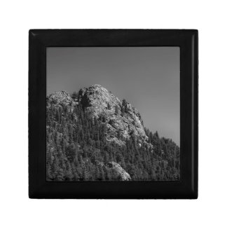 Crescent Moon and Buffalo Rock Small Square Gift Box