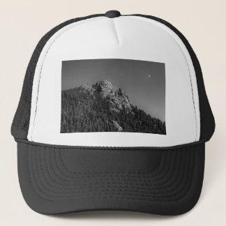 Crescent Moon and Buffalo Rock Trucker Hat