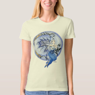Crescent Moon Blue Fairy organic T-Shirt