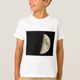 Crescent moon on black background T-Shirt