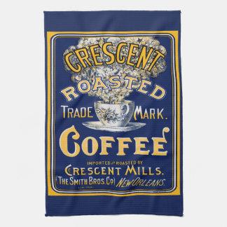 Crescent Roasted Coffee Tea Towel