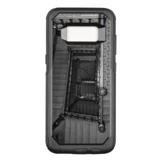 Crescent Stairwell Grayscale OtterBox Commuter Samsung Galaxy S8 Case