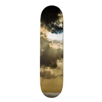 Crescent Sun during Solar Eclipse Skateboards