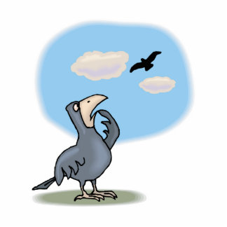 Cresse Crow Photo Cutout