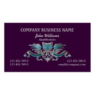 Crest eagle professional masculine pack of standard business cards