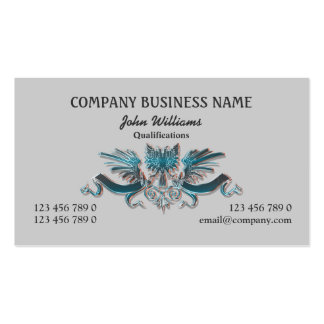 Crest eagle professional masculine PERSONALIZE Pack Of Standard Business Cards
