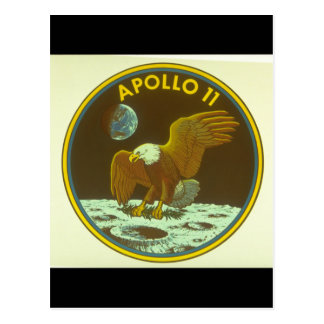 Crest for Apollo Mission_Space Postcard