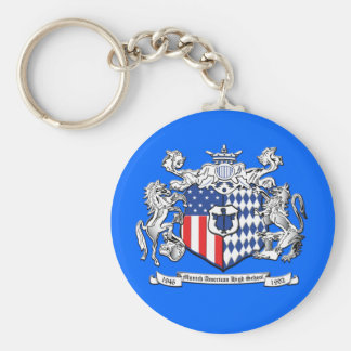 Crest Key Chain