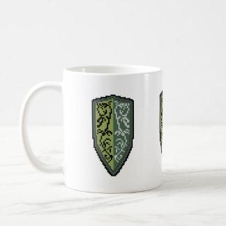 Crest Of Grass Shield Coffee Mug