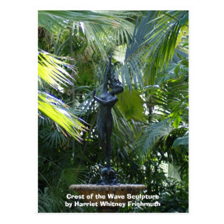 Crest of the Wave Sculpture Postcard
