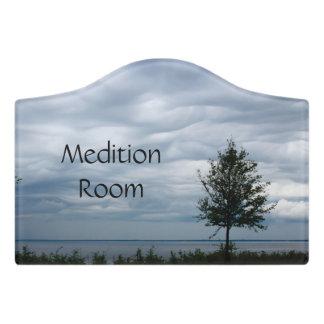 Crest Small Room Sign, Foam Adhesive Door Sign