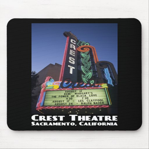 Crest Theatre, Sacramento Mousepad