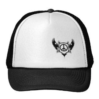 Crest w Peace sign Mesh Hat