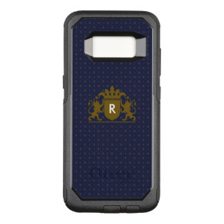 Crest with Changeable Monogram OtterBox Commuter Samsung Galaxy S8 Case