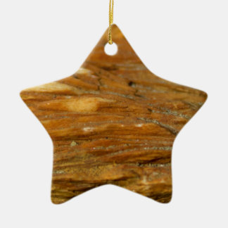 Crested Barite Photo on Star Shaped Ornament
