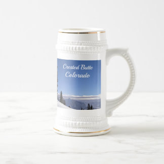 Crested Butte, CO Beer Stein