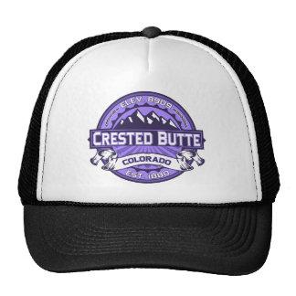 Crested Butte Violet Trucker Hat