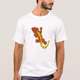 Crested Gecko T-Shirt (orange)