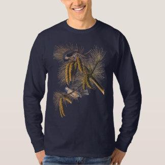 Crested Titmouse Audubon Bird T-Shirt