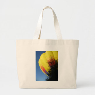 Crested Yellow Large Tote Bag