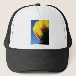 Crested Yellow Trucker Hat