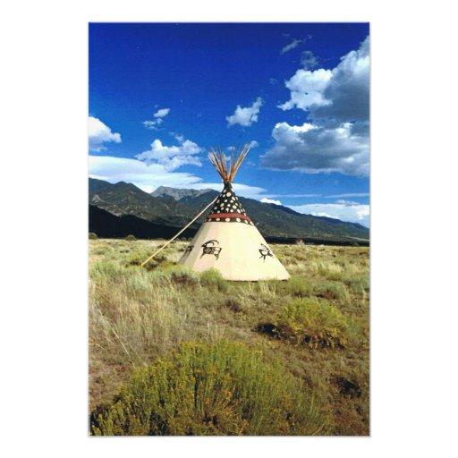 Crestone Colorado Native American Picture Photograph