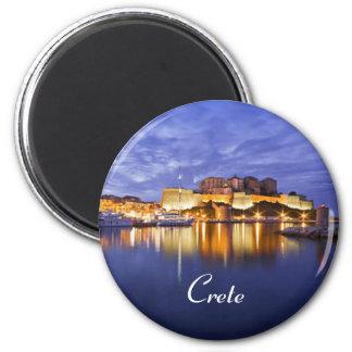crete greece magnet