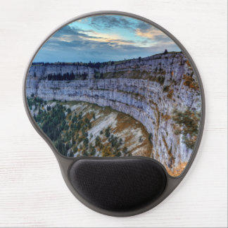 Creux du Van rocky cirque, Switzerland Gel Mouse Pad