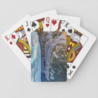 Creux du Van rocky cirque, Switzerland Playing Cards